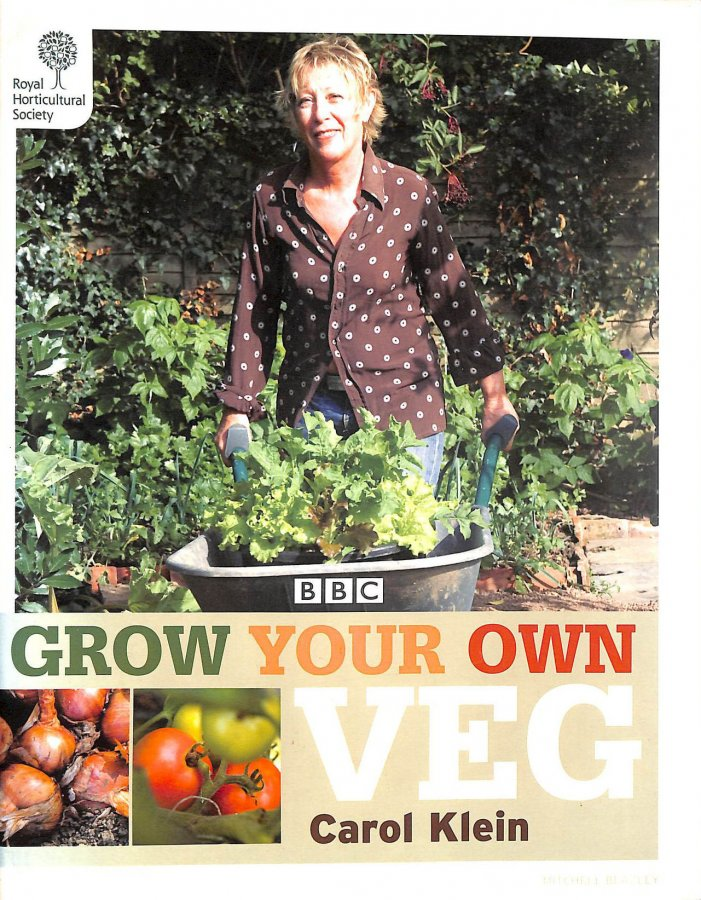 Image for RHS Grow Your Own: Veg (Royal Horticultural Society Grow Your Own)