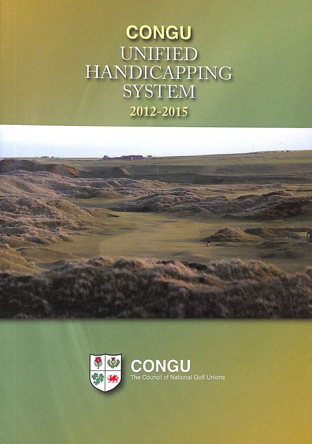 Image for CONGU Unified Handicapping System 2012 - 2015