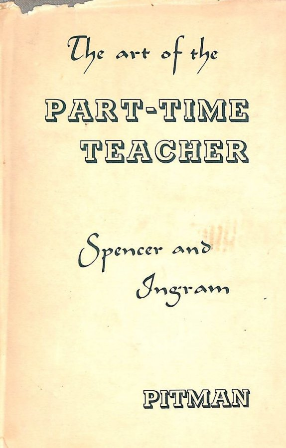 Image for THE ART OF THE PART-TIME TEACHER.