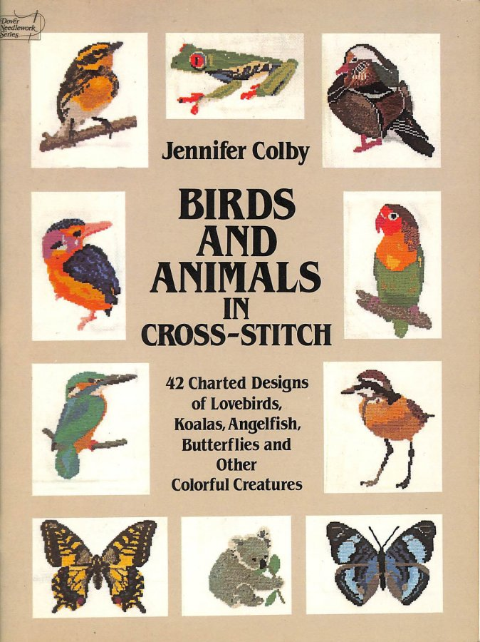 Image for Birds and Animals in Cross-stitch (Dover needlework series)