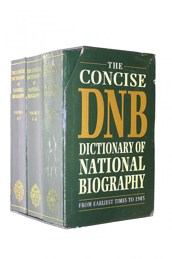 Image for The Concise Dictionary of National Biography:From Earliest Times to 1985