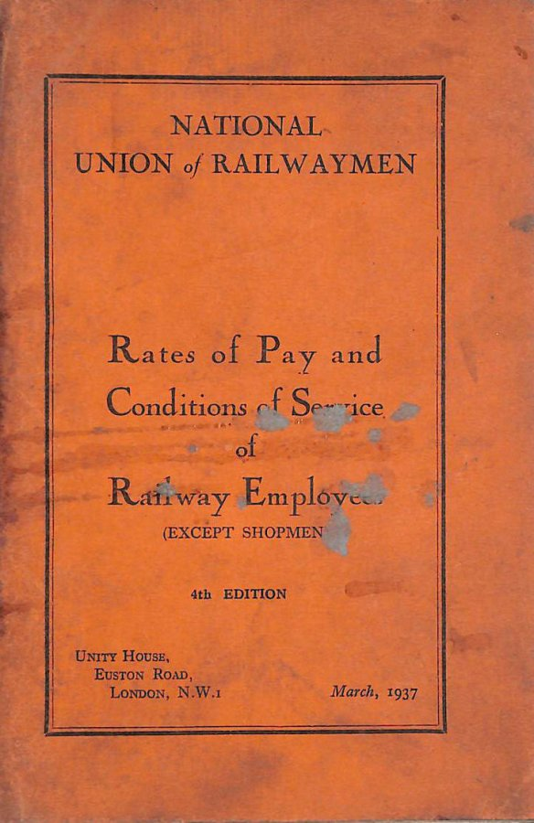 Image for Rates of Pay and Condition of Service of Railway Emloyees