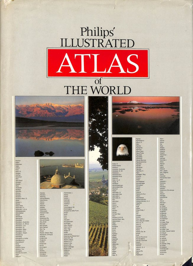 Image for Philip's Illustrated Atlas of the World