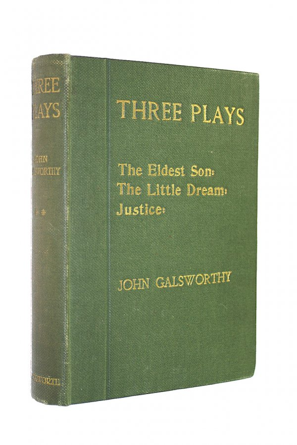 Image for Three Plays: Second Series - The Eldest Son. The Little Dream, Justice