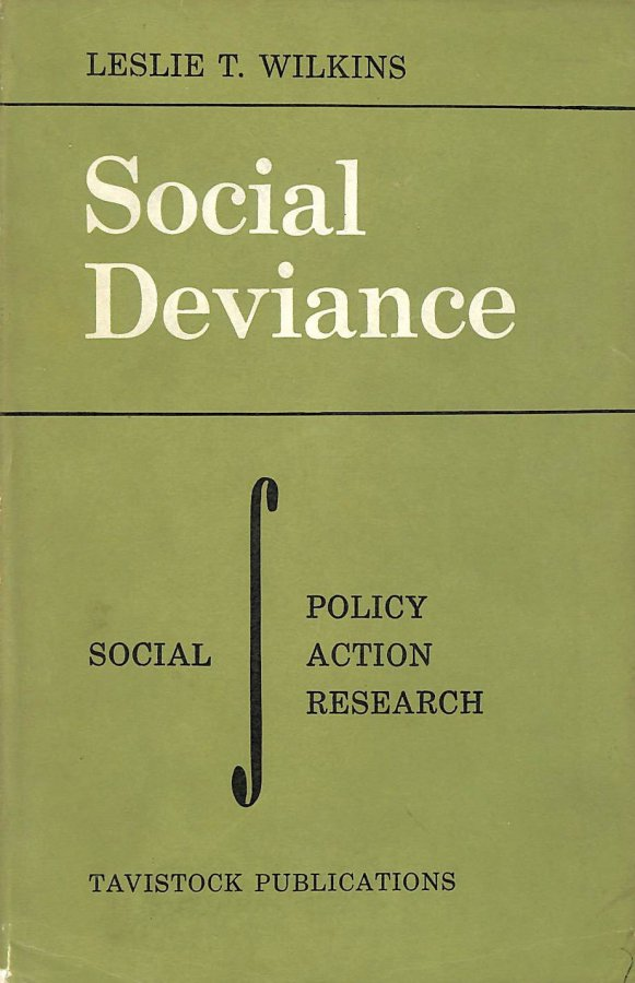 Image for Social deviance. Social policy, action, and research