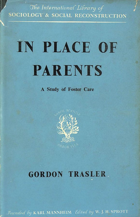 Image for In Place of Parents (International Library of Society)
