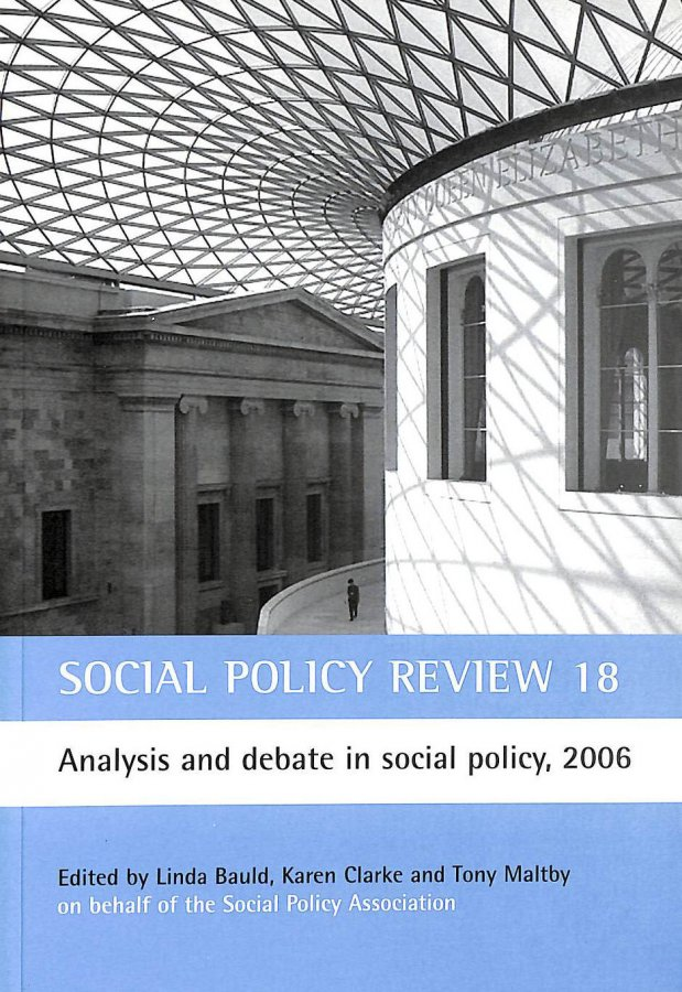 Image for Social Policy Review 18: Analysis and Debate in Social Policy, 2006