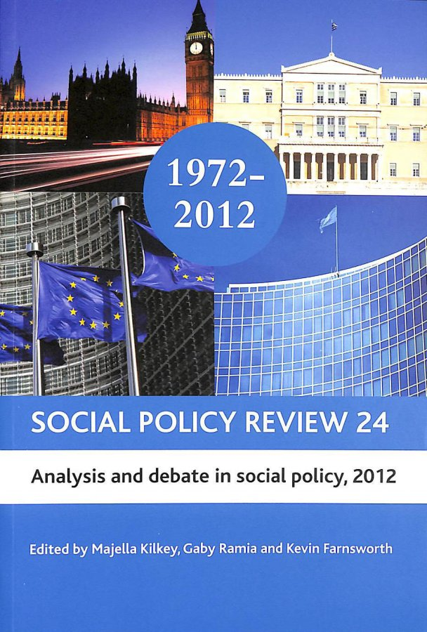 Image for Social Policy Review 24.Analysis and Debate in Social Policy.