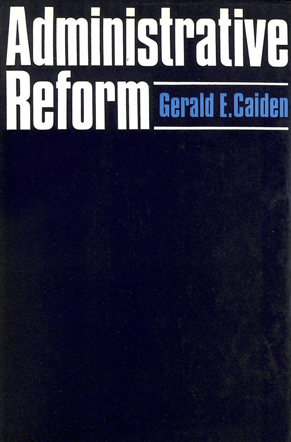Image for Administrative Reform