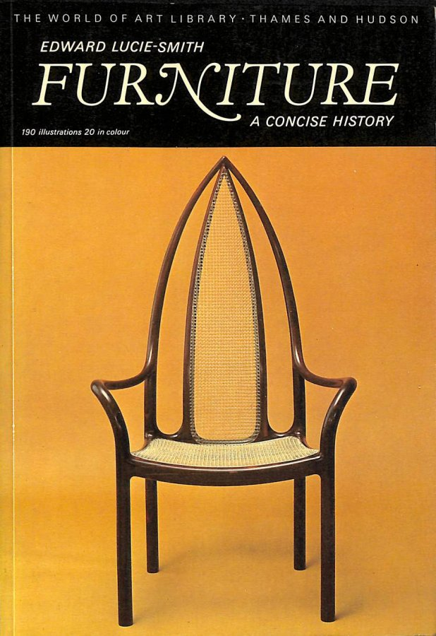 Image for Furniture: A Concise History (World of Art)