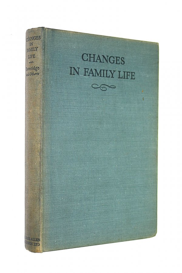 Image for Changes in Family Life