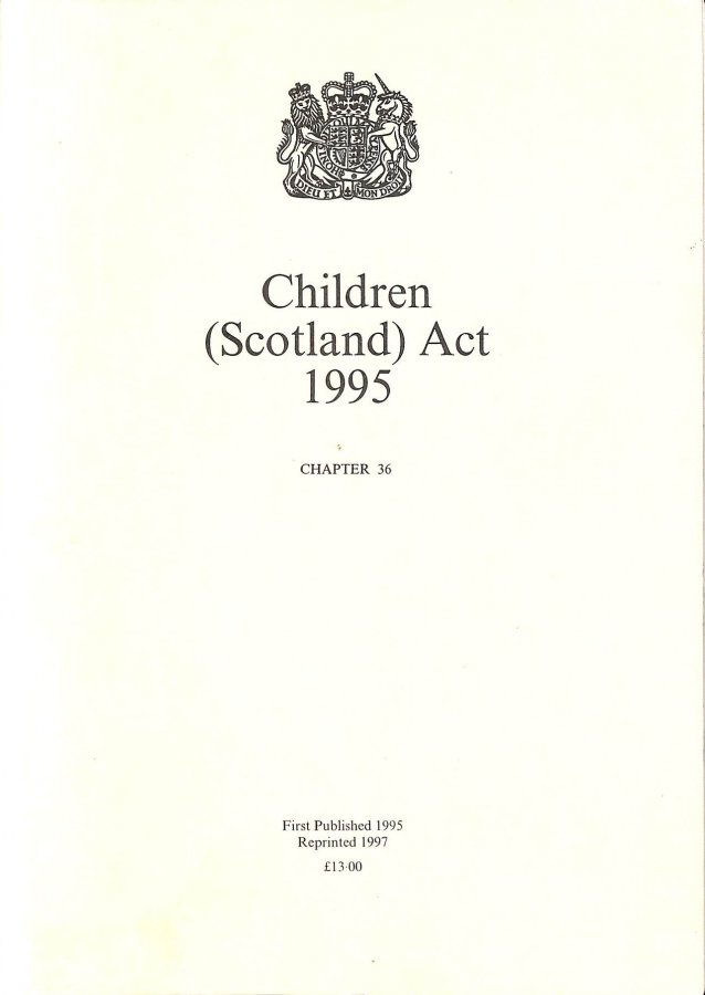Image for Children (Scotland) Act 1995