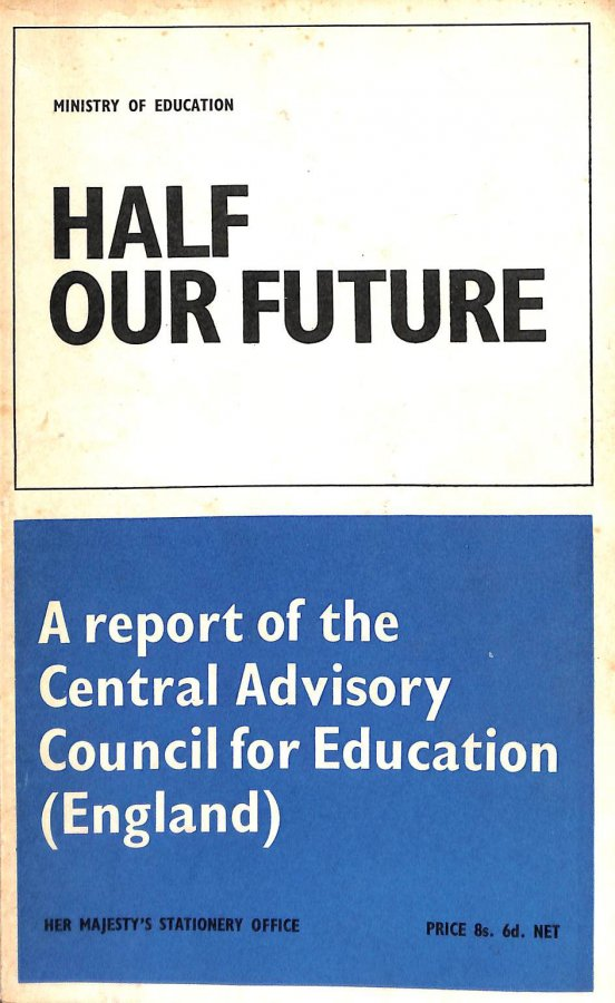 Image for Half Our Future: Report