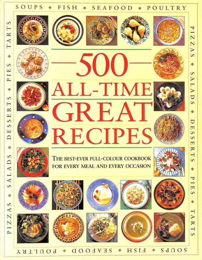Image for 500 All-Time Great Recipes