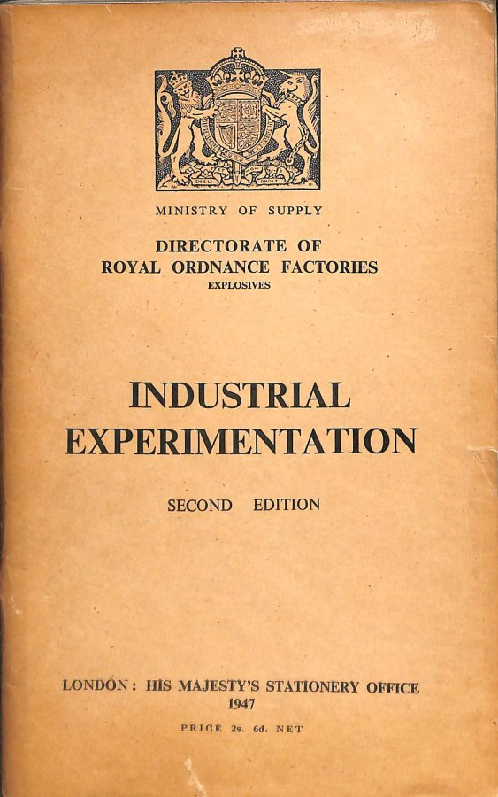Image for Industrial Experimentation