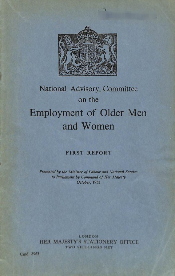 Image for Employment of Older Men and Women