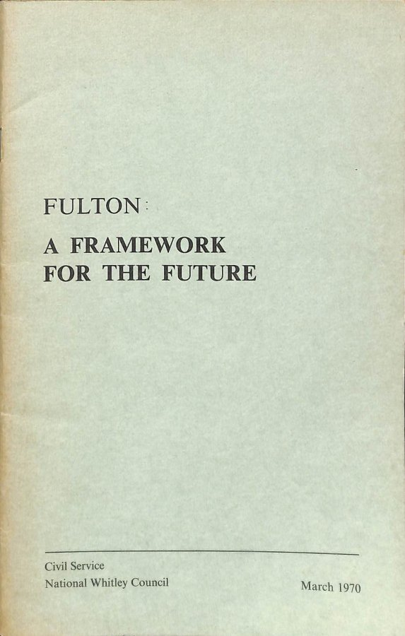 Image for Fulton A Framework for the Future