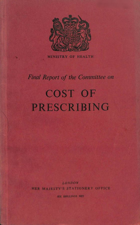 Image for Cost of Prescribing
