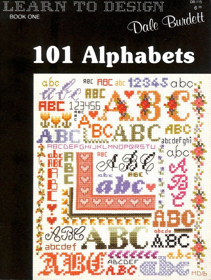 Image for 101 Alphabets (Learn to Design, Book 1)