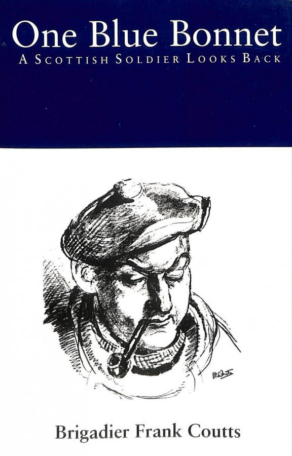 Image for One Blue Bonnet: A Scottish Soldier Looks Back