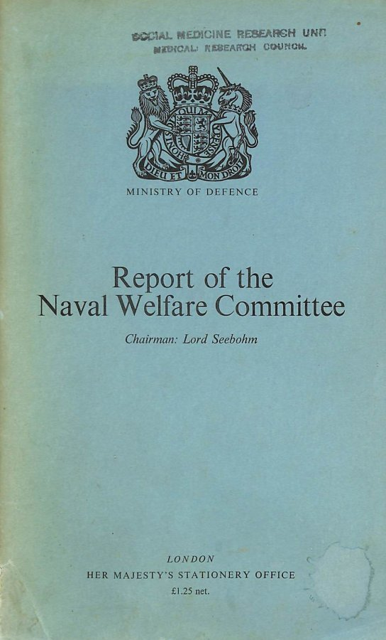 Image for Naval Welfare Committee Report