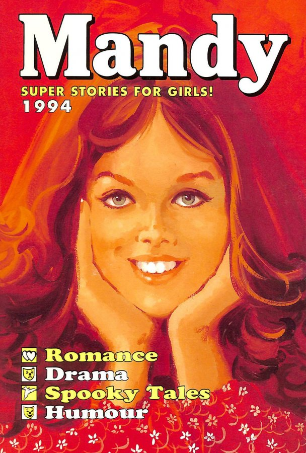 Image for Mandy Annual For Girls 1994 (Annual) (Hardcover)