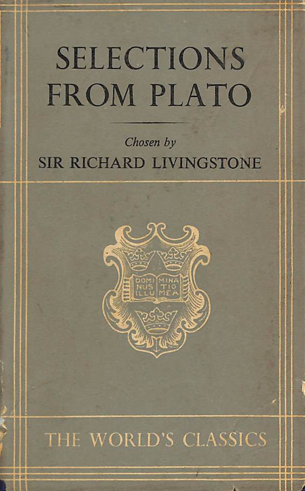 Image for Selections from Plato