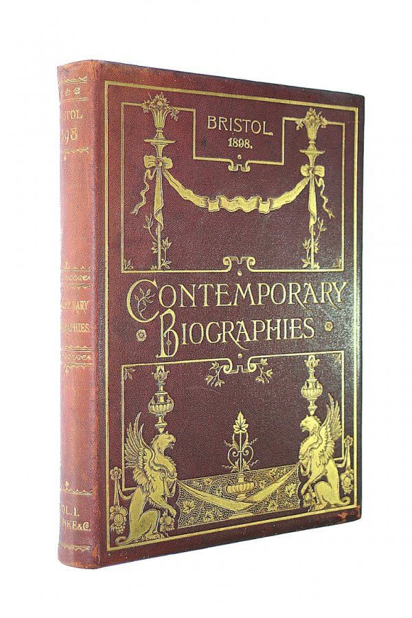 Image for Bristol in 1898 and Contemporary Biographies