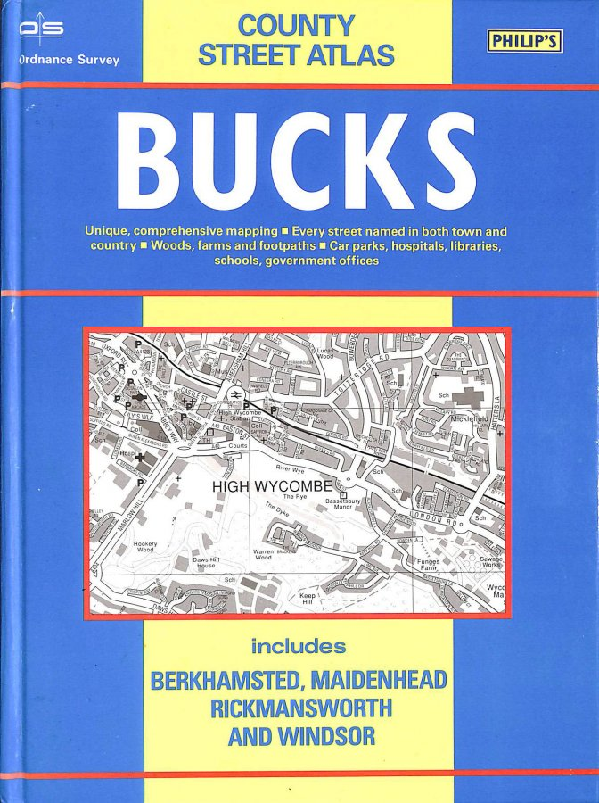 Image for Ordnance Survey Buckinghamshire Street Atlas