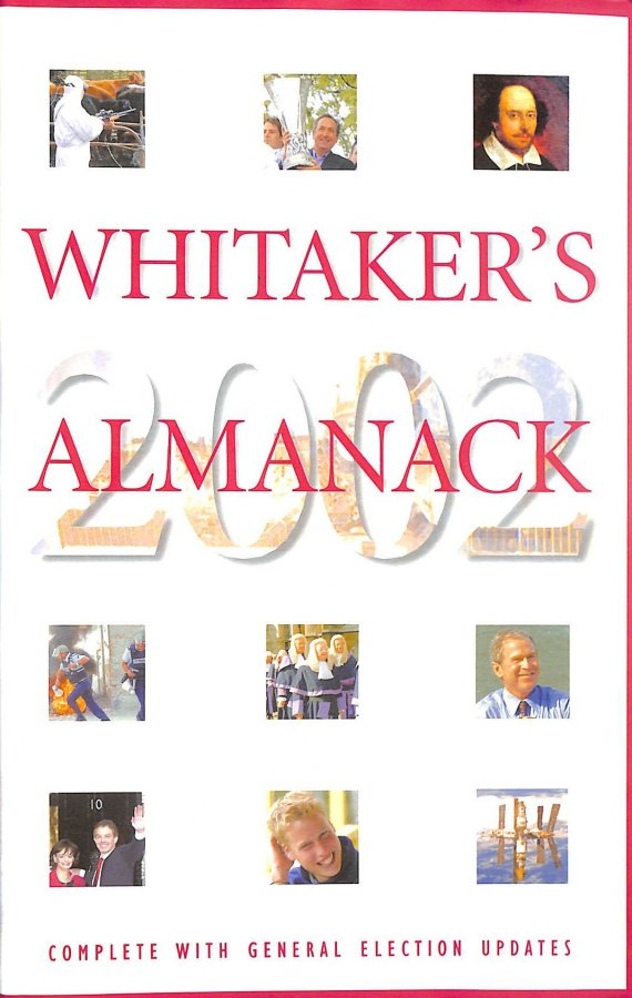 Image for Whitaker's Almanack 2002 134th Annual Edition. Standard Edition