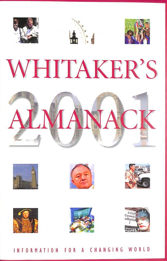 Image for Whitaker's Almanack 2001 (133rd Ed.) (Standard Edition)