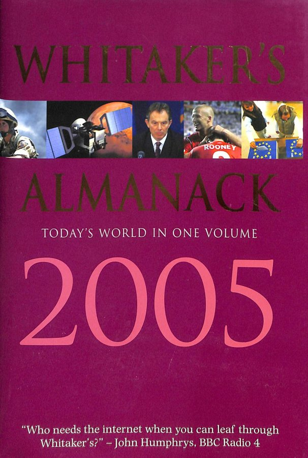 Image for Whitaker's Almanack 2005 2005