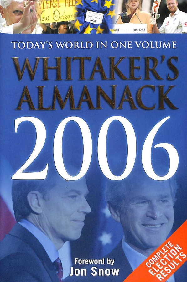 Image for Whitaker's Almanack 2006
