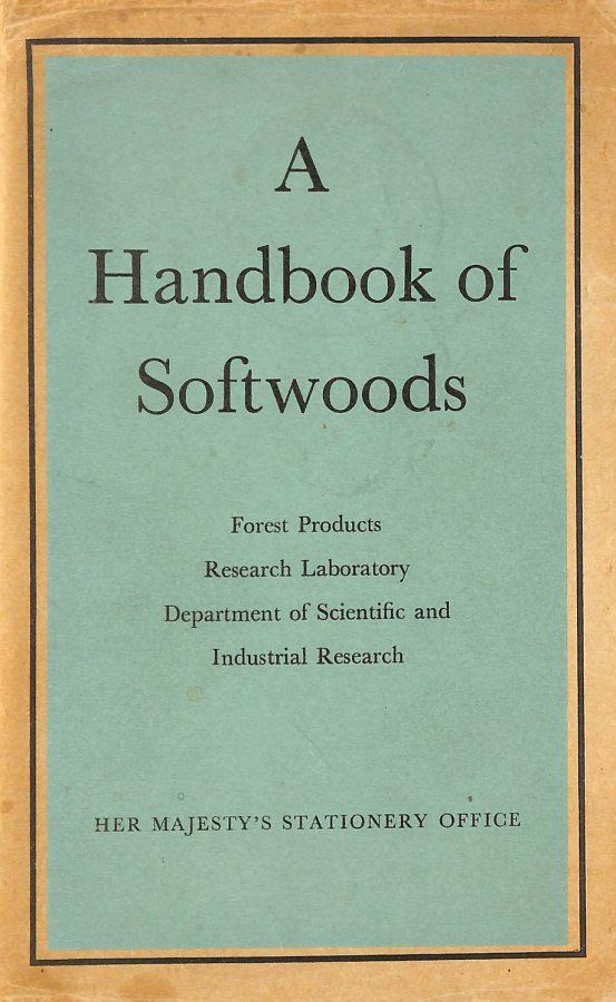 Image for A Handbook of Softwoods