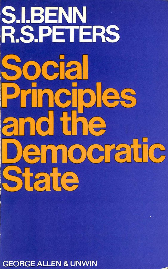 Image for Social Principles and the Democratic State