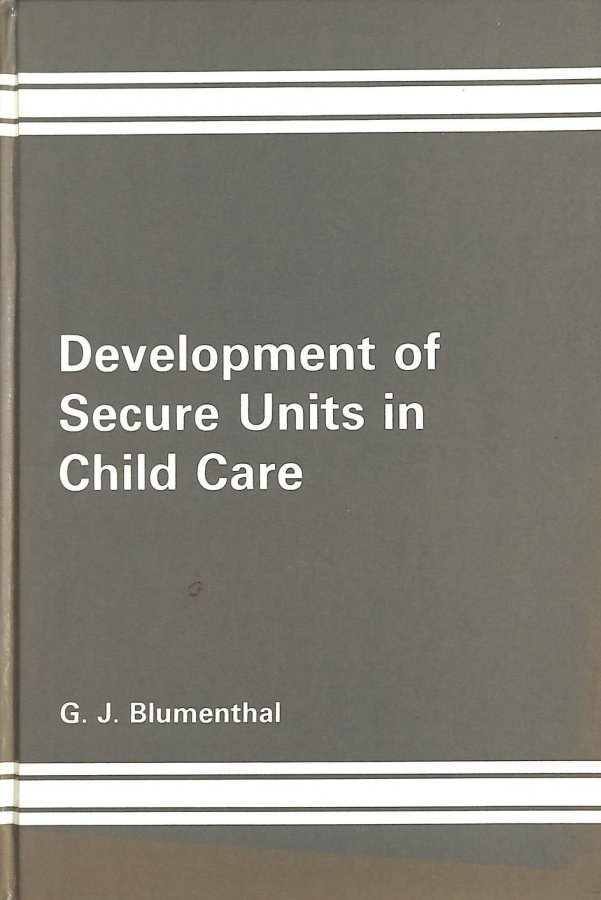 Image for Development of Secure Units in Child Care