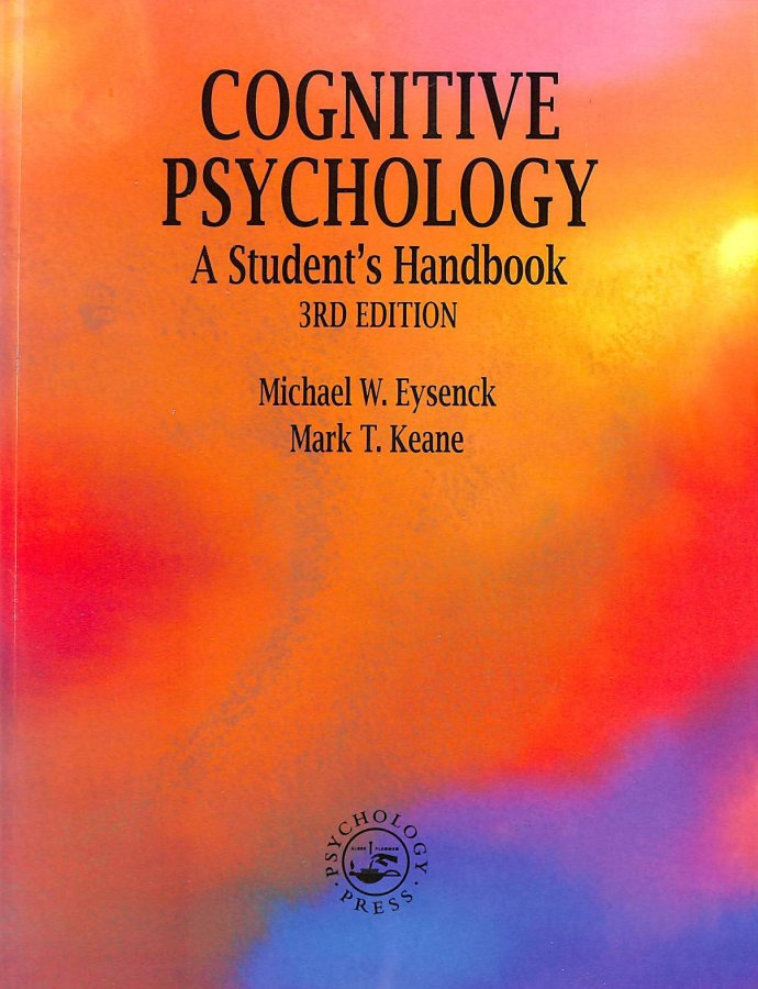 Image for Cognitive Psychology: A Student's Handbook