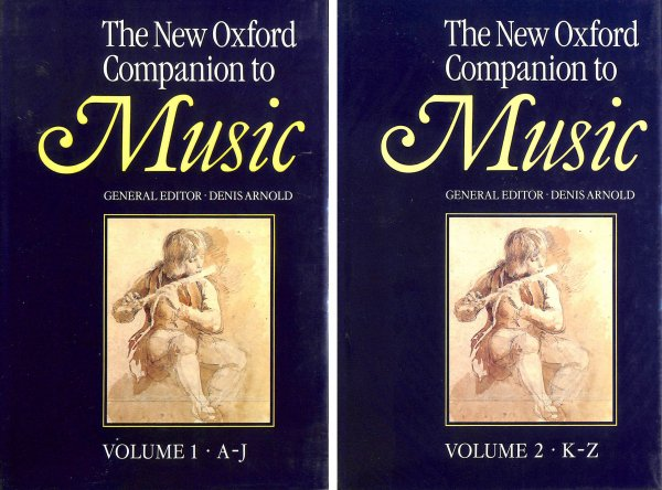 Image for The New Oxford Companion to Music 2 Vol Set