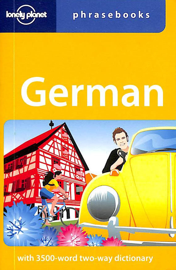Image for German Phrasebook (Lonely Planet Phrasebook)