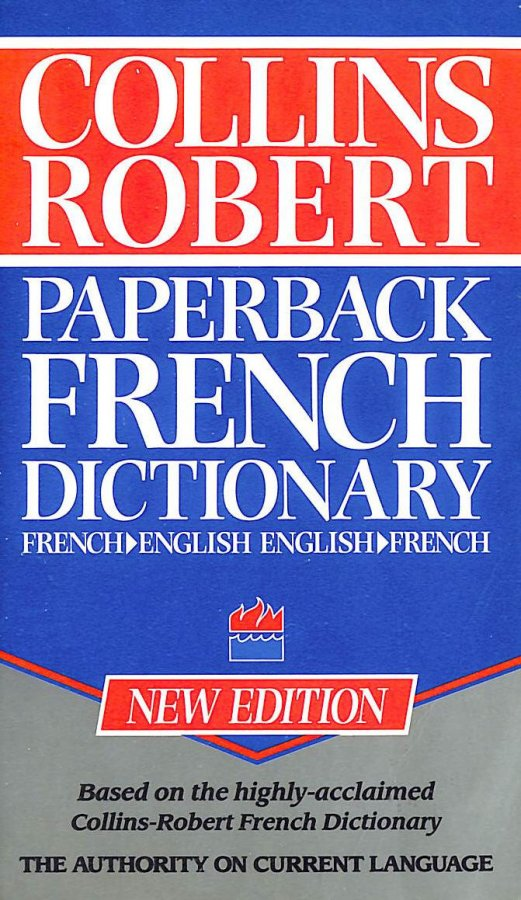 Image for Collins Robert Paperback French Dictionary