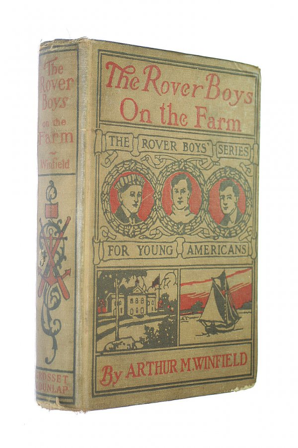 Image for The Rover Boys on the Farm; or, Last days at Putnam hall