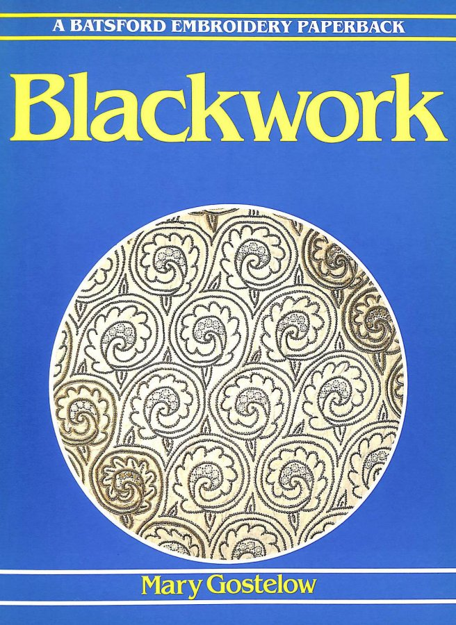 Image for Blackwork (Batsford Embroidery Paperback)