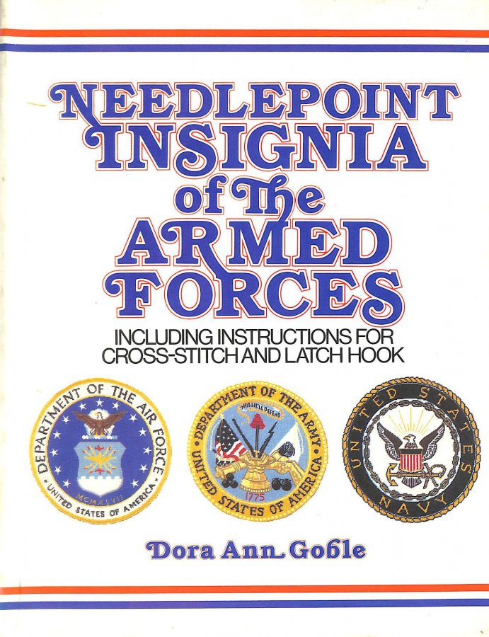 Image for Needlepoint Insignia of the Armed Forces