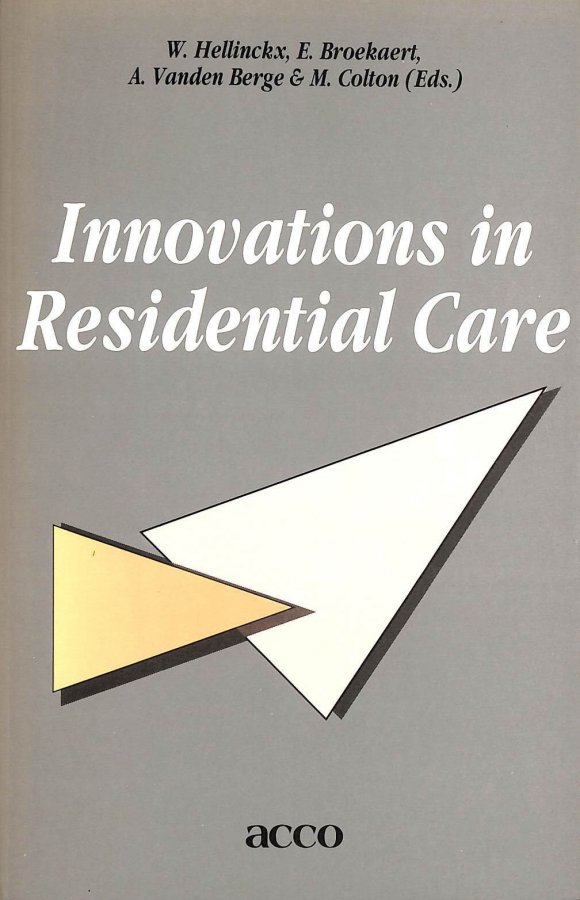 Image for Innovations in residential care