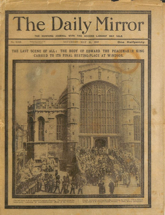 Image for Daily Mirror 21st May 1910