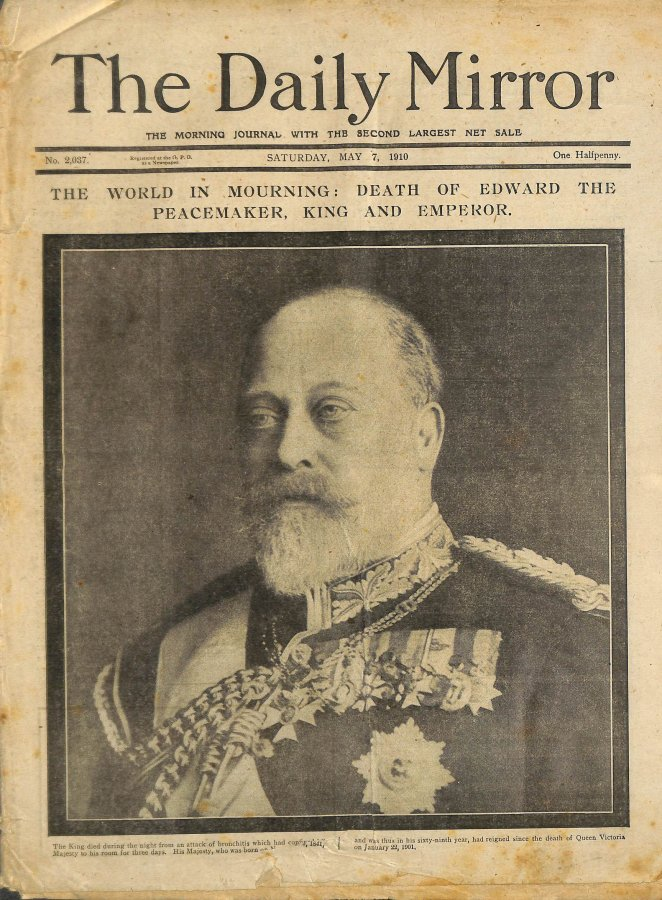 Image for Daily Mirror, Saturday May 7 1910