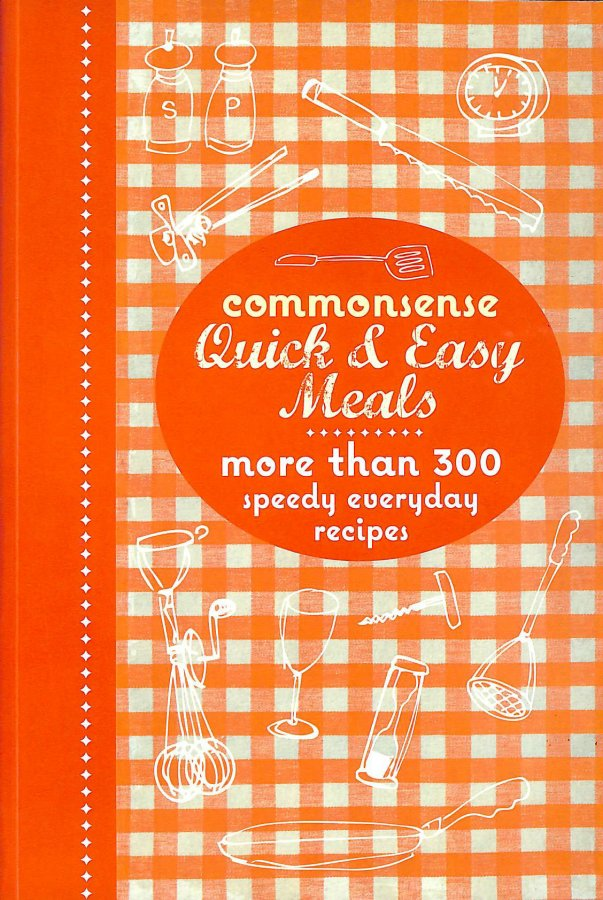 Image for Commonsense Quick and Easy Meals
