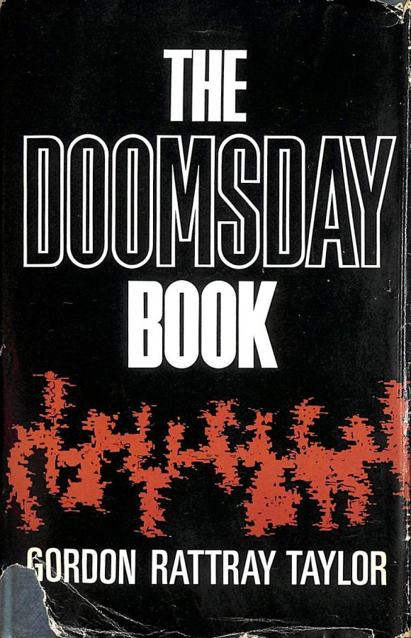 Image for The Doomsday book by Gordon Rattray Taylor