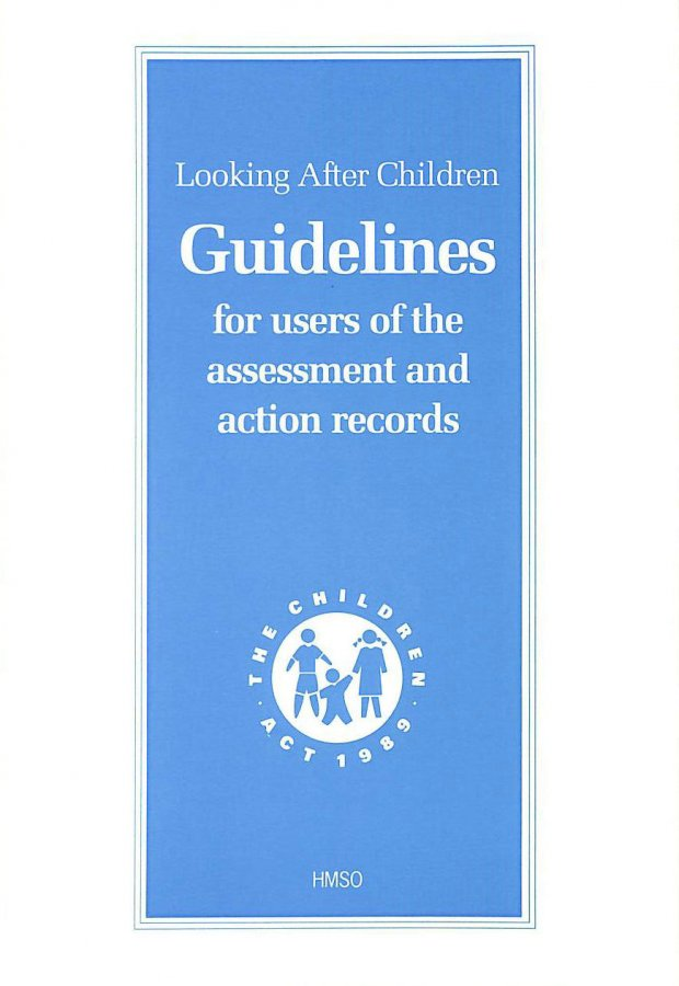 Image for Looking After Children: Assessment and Action Record