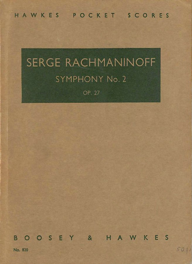 Image for Symphony No. 2 In E Minor, Op. 27, in Full Score (Dover Music Scores) by Serge Rachmaninoff (1999-01-22)